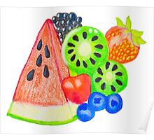 Mixed Fruit Poster