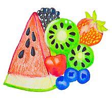 Mixed Fruit Photographic Print