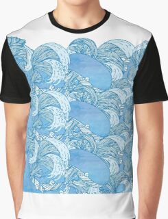 Sea Whales Graphic T-Shirt