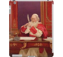 Georges Croegaert  SHARPENING THE QUILL iPad Case/Skin