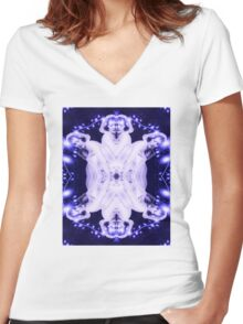 Ethereal Women's Fitted V-Neck T-Shirt