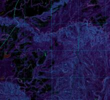USGS TOPO Map Alabama AL Camden South 303397 1973 24000 Inverted Sticker