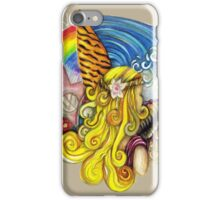 Comber Beach and Waves iPhone Case/Skin