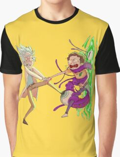 Tiny Rick and Morty  Graphic T-Shirt