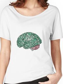 Brain Storming and tangled thoughts - Green Women's Relaxed Fit T-Shirt