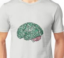 Brain Storming and tangled thoughts - Green Unisex T-Shirt