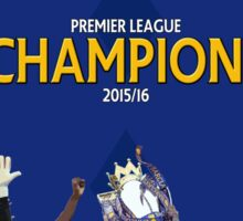 Leicester City FC - CHAMPIONS Sticker