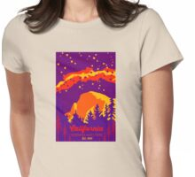 Yosemite National Park. Womens Fitted T-Shirt