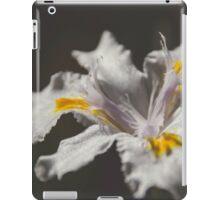 White Iris 4 iPad Case/Skin