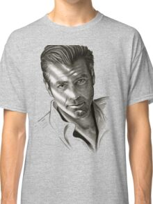G. Clooney in black and white Classic T-Shirt