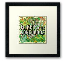 Flight of the Conchords - Album Framed Print