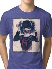 Gas Mask Tri-blend T-Shirt