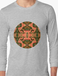 Autumn Pixie Pattern Long Sleeve T-Shirt