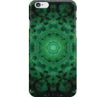 Green Mandala iPhone Case/Skin