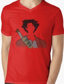 Samurai paint Mens V-Neck T-Shirt