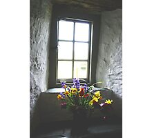 Tintagel Post Office Window Photographic Print