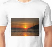 0573 Sunset at Squeaky Beach Unisex T-Shirt
