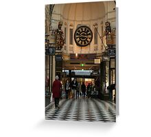 0351 Melbourne City Arcade Greeting Card