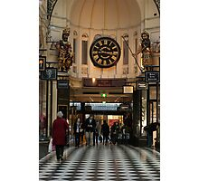 0351 Melbourne City Arcade Photographic Print
