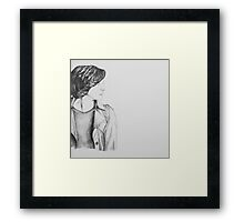 Regina Mills Fan Art Drawing Framed Print