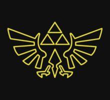 Zelda Triforce Kids Tee