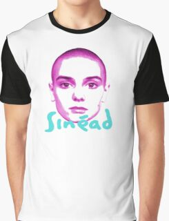 sinead o'connor - face Graphic T-Shirt