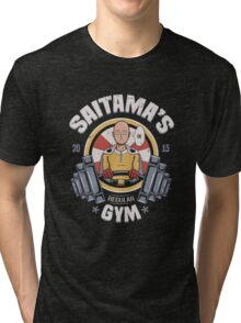 Saitama's Gym Tri-blend T-Shirt