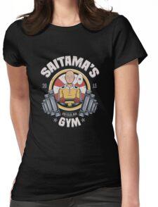 Saitama's Gym Womens Fitted T-Shirt