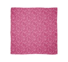 Pink Who Scroll Scarf