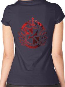 Hope's Peak Academy symbol Women's Fitted Scoop T-Shirt