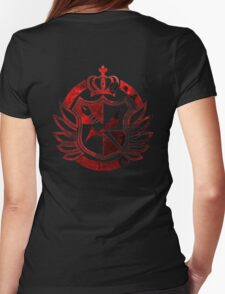 Hope's Peak Academy symbol Womens Fitted T-Shirt
