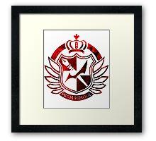 Hope's Peak Academy symbol Framed Print