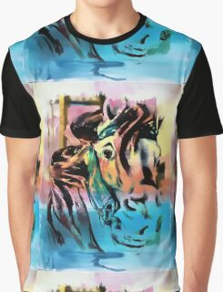 Carousel Horse Graphic T-Shirt