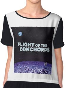 Flight of the Conchords - The Distant Future Chiffon Top