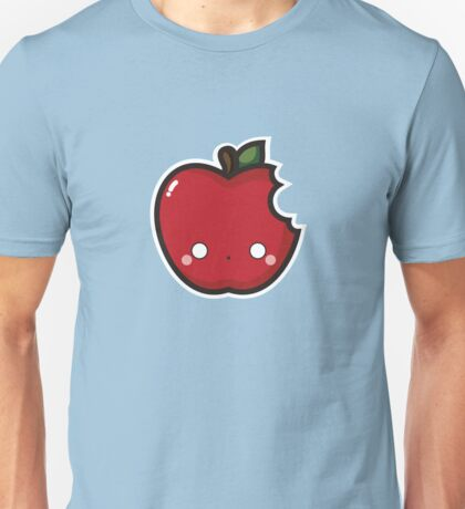 Kawaii apple Unisex T-Shirt