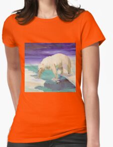 Habitat Loss Womens Fitted T-Shirt