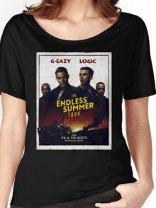 G-Eazy + Logic The Endless Summer Tour Women's Relaxed Fit T-Shirt
