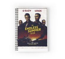 G-Eazy + Logic The Endless Summer Tour Spiral Notebook