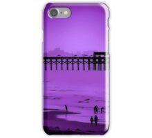 Purple Beach Scene iPhone Case/Skin