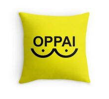 one punch man Throw Pillow