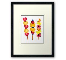 fruit pops Framed Print