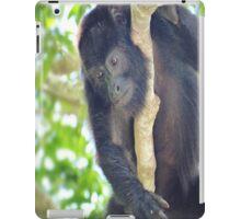 Black Howler Monkey  iPad Case/Skin