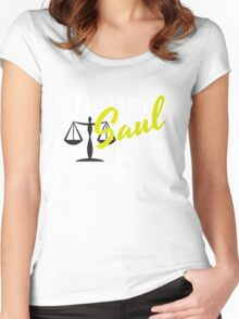bettersaul Women's Fitted Scoop T-Shirt