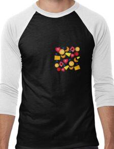 fruit gems Men's Baseball ¾ T-Shirt