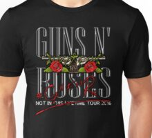 Not In This Lifetime Tour Logo Unisex T-Shirt