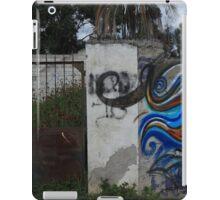 Graffiti Covered Wall and Steel Gate iPad Case/Skin