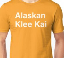 Alaskan Klee Kai Unisex T-Shirt