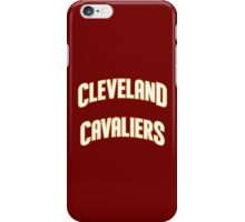 Cleverland Cavaliers Basketball Team iPhone Case/Skin