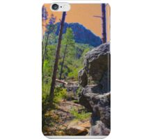 """""""Psychedelic Thumb Butte, Arizona"""" iPhone Case/Skin"""
