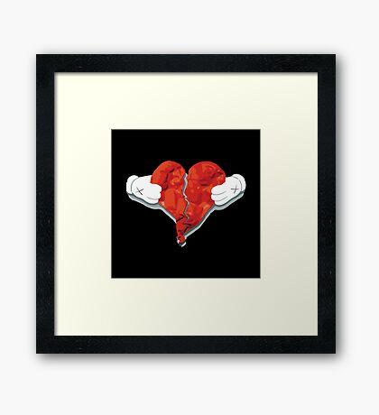 Heart Break Framed Print